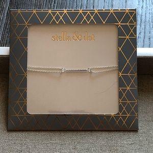 Brand New Stella and Dot Wishing Bracelet Silver